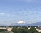 東戸塚から見える富士山