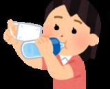 水分補給と保水